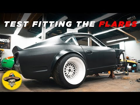 How To Build Your Own CARBON FIBER PARTS | Rear Fender Flare Reveal | (EP# 45)(4K)