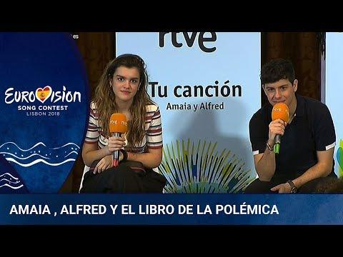 Amaia, Alfred y la polémica por el libro 'España de mierda'