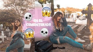 CREANDO FOTOS EN EL CEMENTERIO!!