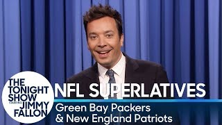Tonight Show Superlatives: 2018 NFL Season - Packers and Patriots