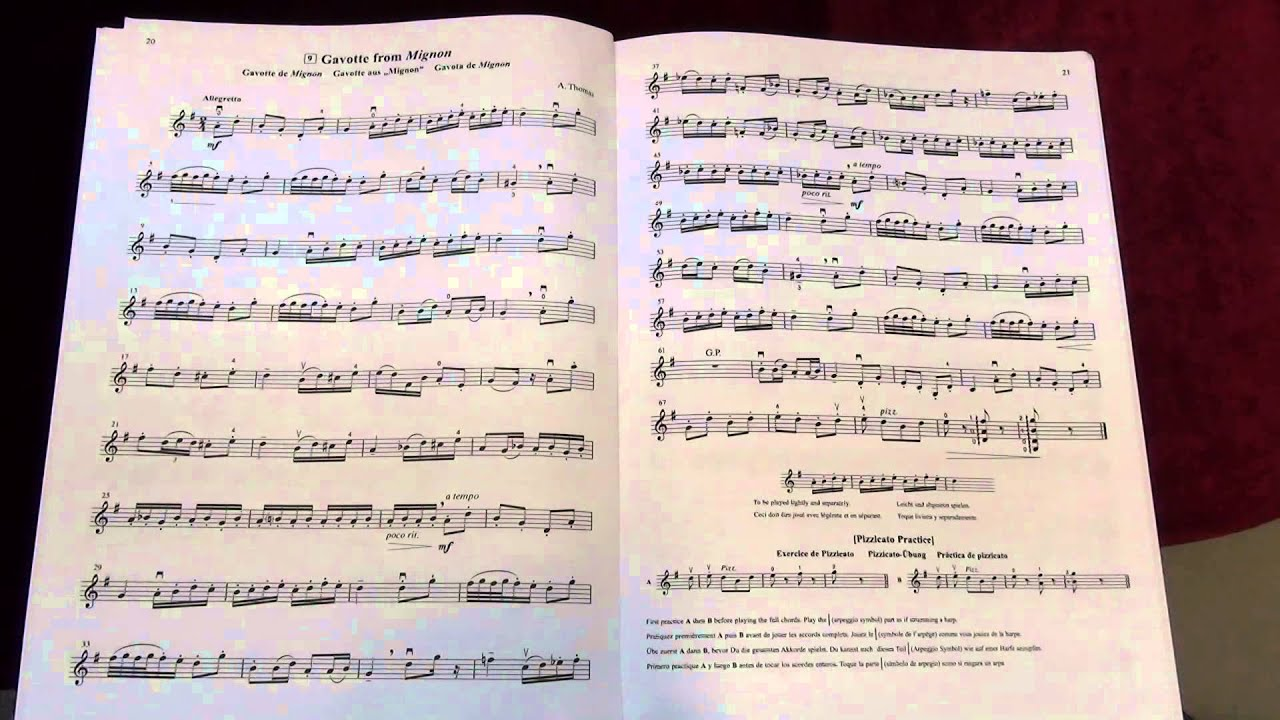 Suzuki Violing Book