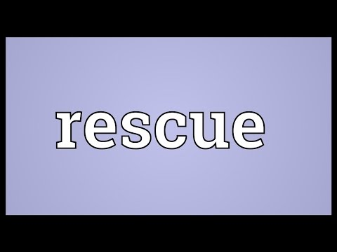 Rescue Meaning