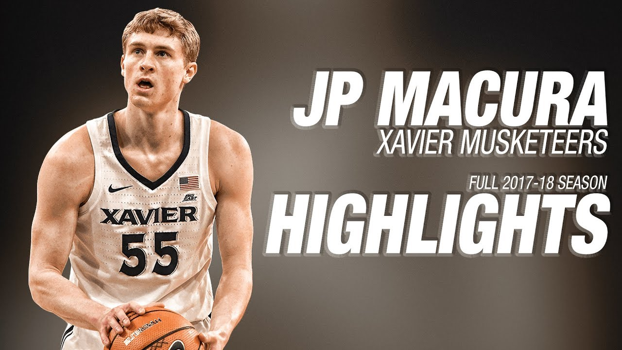 8bec144e3 JP Macura - Xavier - Ultimate Highlight Mix (2017-18 Season) - YouTube
