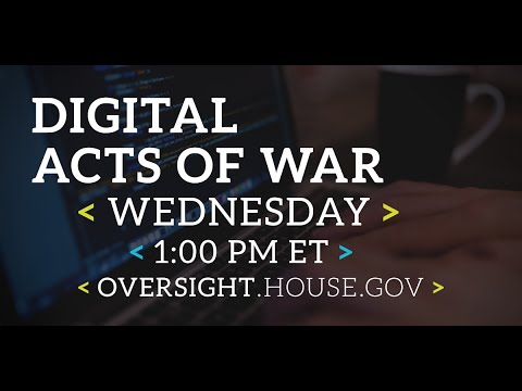 Digital Acts of War - Part I