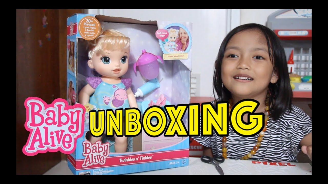 Pixel UNBOXING boneka BABY ALIVE doll twinkles n tinkles - YouTube 8bb3d9354c