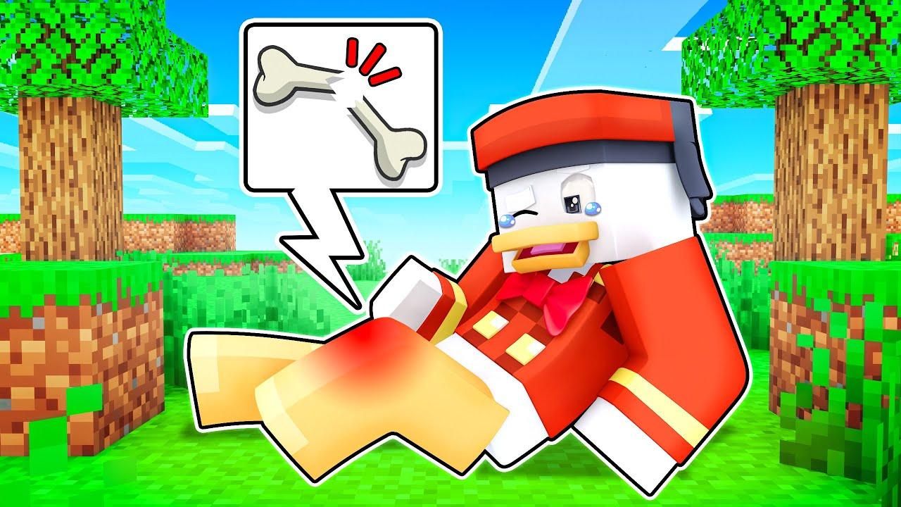 Download Ente BRICHT Sich Das BEIN in Minecraft !