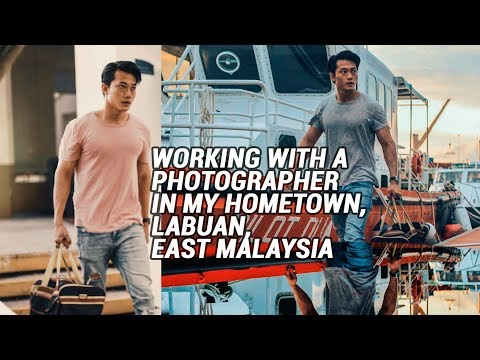 LABUAN WATERFRONT HARBOUR PHOTOSHOOT | Vlogged on Samsung S8 Plus