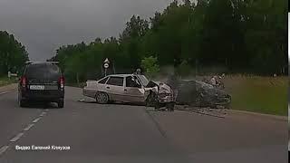 Жесткое ДТП в Полотняном Заводе