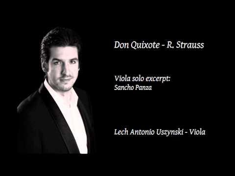 Lech Antonio Uszynski - Sancho Panza / Don Quixote - R. Strauss // Live at Tonhalle Zürich