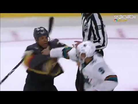 NHL Playoff Fight | Evander Kane vs. Ryan Reaves