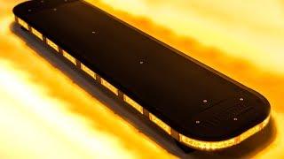 Blixtljusmönster Skyline Black 911Signal Maskinbelysning.com 112System AB