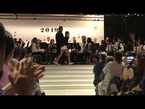 6th grade band concert - Windsor Knolls Middle School - June 5th, 2019