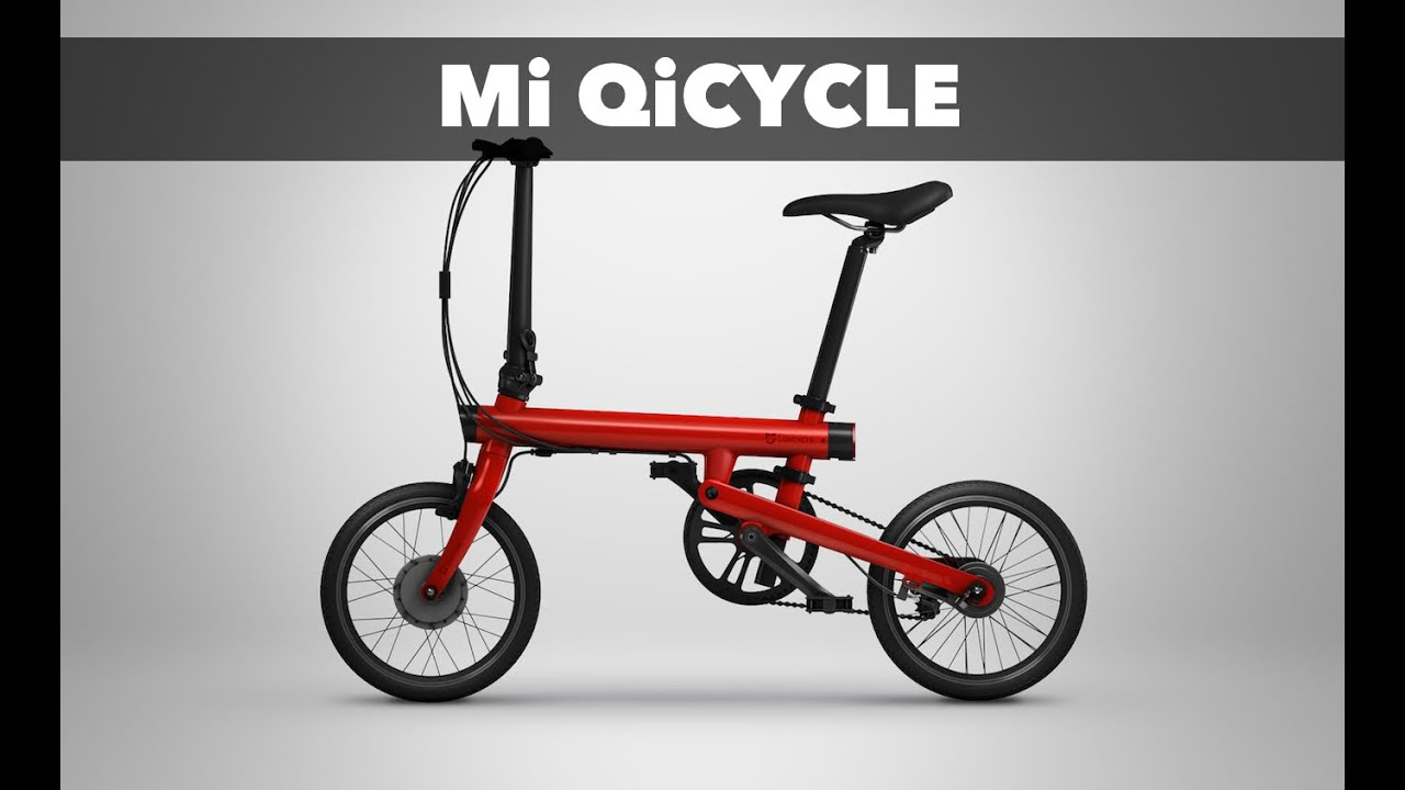 xiaomi qicycle folding electric bike smart bicycle for. Black Bedroom Furniture Sets. Home Design Ideas