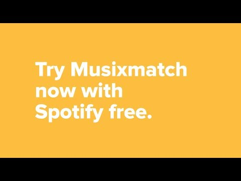 Get the Musixmatch lyrics for your Spotify music, now also available for Spotify free on iOS!