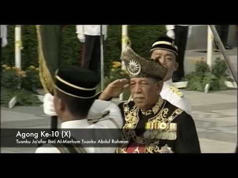 Malaysia Agong from 1 to 14