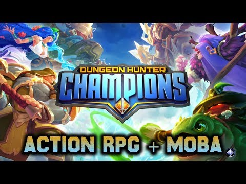 Game Baru Ini | Dungeon Hunter Champions [ENG] Android Action-RPG