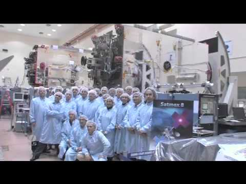 ILS Launch a Proton M / Breeze M rocket with the SATMEX-8 satellite