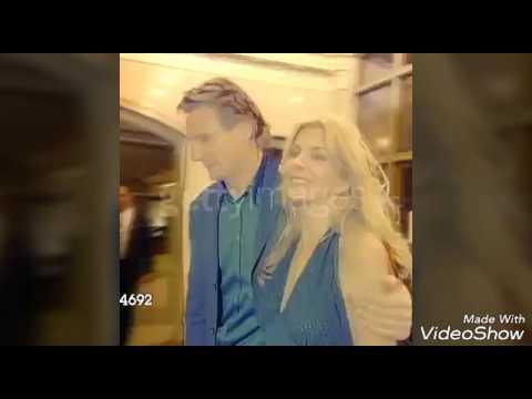 Blessed: Natasha Richardson and Liam Neeson