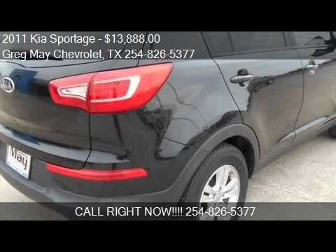 Elegant 2011 Kia Sportage Base 4dr SUV For Sale In West, TX 76691 At