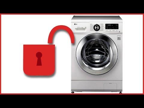 Как разблокировать стиральную машину lg