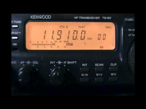 NHK World Radio Japan (Yamata, Japan) in japanese - 11910 kHz