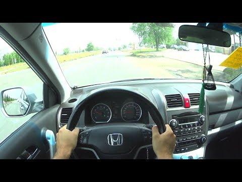 2007 Honda CR-V 2.0L 150hp POV Test Drive