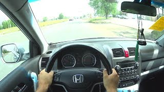 2007 Honda CR-V 2.0L 150hp POV Test Drive