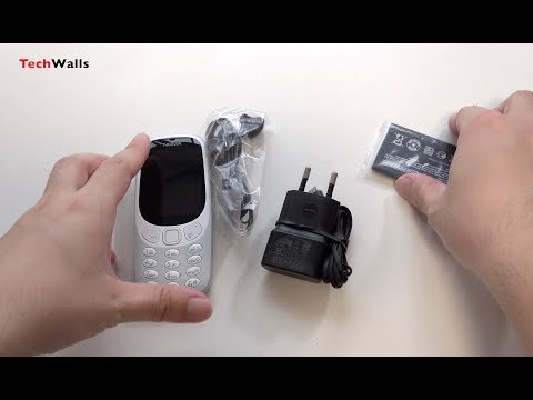 Nokia 3310 Dual-SIM Unlocked Feature Phone - Grey Unboxing