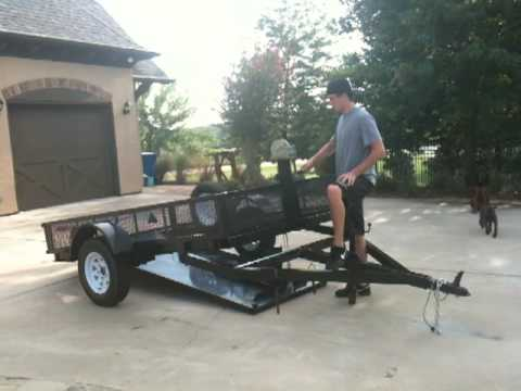 Wooddeckcartrailerhideawayram further Single Axle Flatbed Trailer Plan in addition Req Dimensions also Straight Deck Slide In R s additionally S L. on tilt car trailer plans