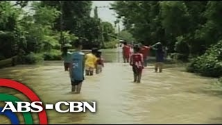 Pangasinan villages flooded even after typhoon