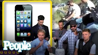 The Backstreet Boys Show Off Their Favorite Dance Moves  | People