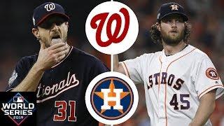 Washington Nationals vs. Houston Astros Highlights   World Series Game 1 (2019)