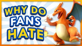 Why Do Some Pokemon Fans HATE Charizard?