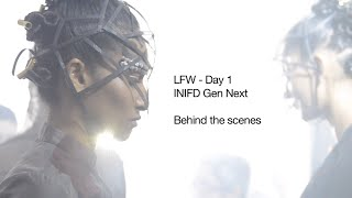 Behind the scenes of Lakme India Fashion Week Day