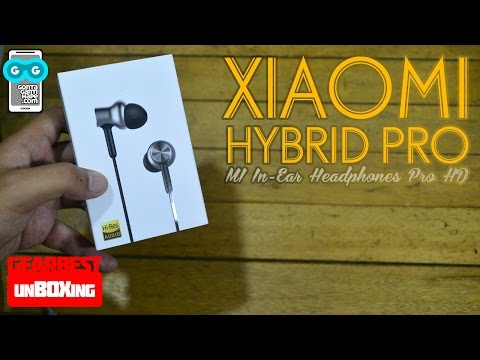 Unboxing Mi In-Ear Headphones Pro HD (Mi Hybrid Pro) - Indonesia
