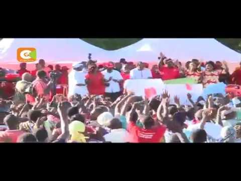 Kenyatta, DP Ruto campaign in Kwale