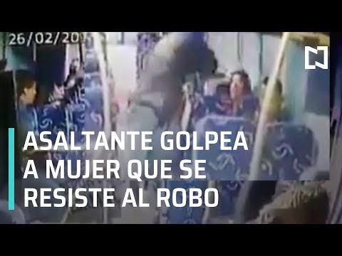 Golpean a mujer durante asalto en Estado de México - En La Mira