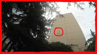 Упал с крыши 9 этажа! Неудачный зацеп!(, 2016-06-14T16:16:02.000Z)