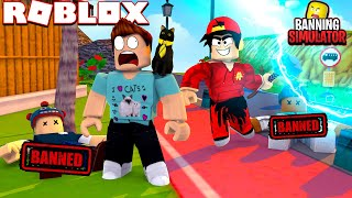 ROBLOX - BANNING FAMOUS YOUTUBERS!!