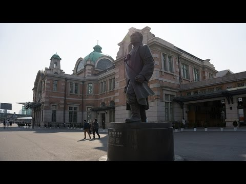 Old Seoul Station, dating back to 1925, in Seoul, South Korea