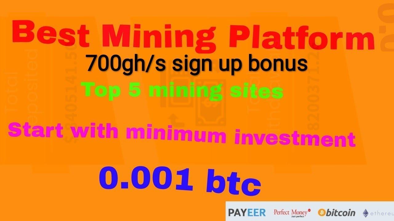 Top 5 Bitcoin Mining Sites -