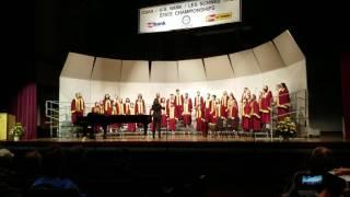 mhs maa a choir ave maria at osaa 5a state championships 2017