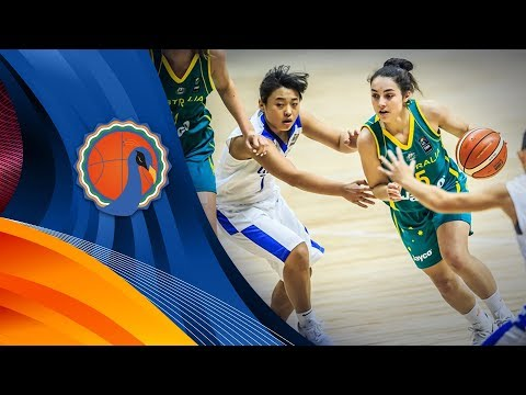 Chinese Taipei v Australia - Full Game - FIBA U16 Women's Asian Championship 2017