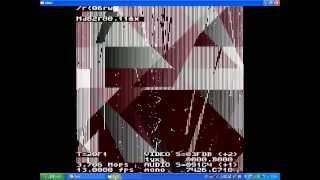 Try IBNIZ ! 018:The flying triangles