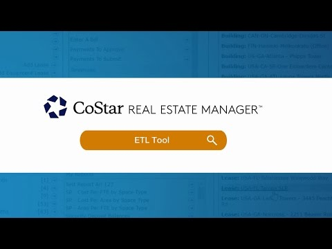Lease Accounting Software Demo: Extract, Transfer and Load Data Tool