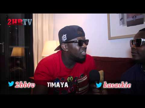 Interview with Timaya Pt 2 Naija Artists are working too hard