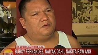 UB: Buboy Fernandez, naiyak dahil nakita raw ang hirap ni Pacquiao dulot ng shoulder injury