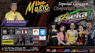 Live Music Virtual || Cs. ARSEKA Music || (Sepesial Langgam Campursari Sragenan) || 14 November 2020