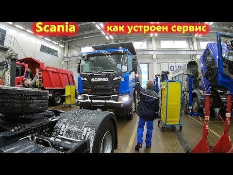 СКАНИЯ сервис и запчасти Scania – как это устроено!