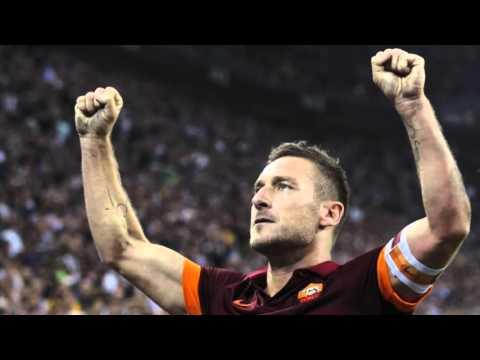 ROMA - TORINO 3-2  LA CANZONE PER TOTTI!!!